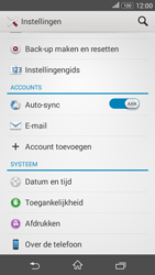 Sony E2003 Xperia E4 G - Netwerk - Software updates installeren - Stap 5