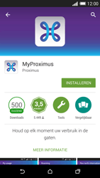 HTC One M8 - Applicaties - MyProximus - Stap 8
