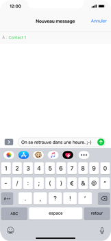 Apple iPhone XR - MMS - envoi d'images - Étape 8