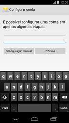 Motorola Moto G - Email - Como configurar seu celular para receber e enviar e-mails - Etapa 6