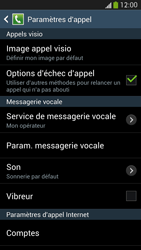 Samsung I9295 Galaxy S IV Active - Messagerie vocale - configuration manuelle - Étape 7