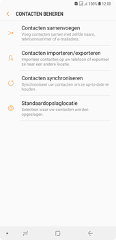 Samsung galaxy-a7-dual-sim-sm-a750fn - Contacten en data - Contacten kopiëren van SIM naar toestel - Stap 7
