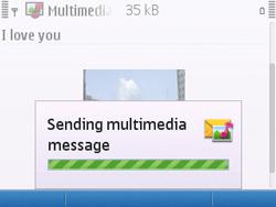 Nokia E5-00 - Mms - Sending a picture message - Step 15
