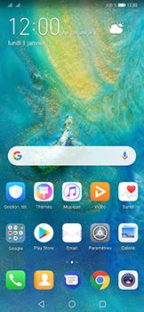 Huawei Mate 20 Pro - E-mail - envoyer un e-mail - Étape 1