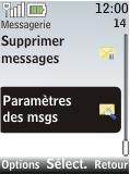 Nokia 2720 fold - SMS - Configuration manuelle - Étape 4