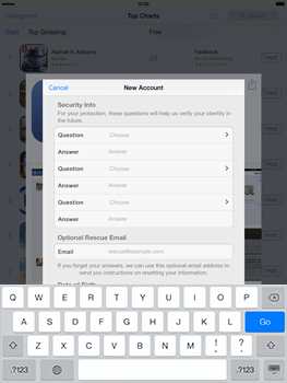 Apple iPad mini iOS 7 - Applications - Downloading applications - Step 13