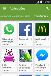 Samsung Galaxy Young II - Aplicações - Como pesquisar e instalar aplicações -  12