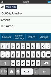 Samsung Wave M - E-mails - Envoyer un e-mail - Étape 10