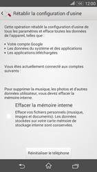 Sony Xperia E4g - Aller plus loin - Restaurer les paramètres d'usines - Étape 6