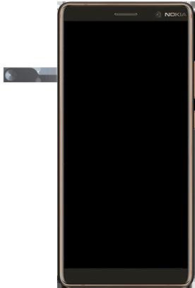 Nokia 7 Plus - Premiers pas - Insérer la carte SIM - Étape 2