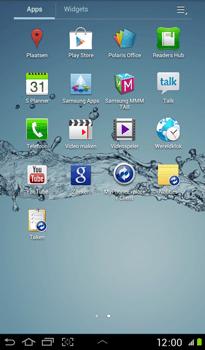 Samsung P3100 Galaxy Tab 2 7-0 - Voicemail - handmatig instellen - Stap 3