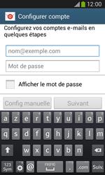 Samsung S7275 Galaxy Ace III - E-mail - Configuration manuelle - Étape 5