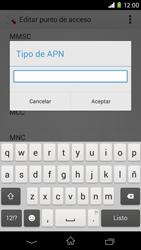 Sony Xperia M2 - Mensajería - Configurar el equipo para mensajes multimedia - Paso 13