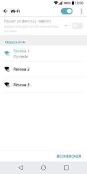 LG Q6 - WiFi et Bluetooth - Configuration manuelle - Étape 8