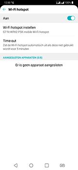 LG g7-fit-dual-sim-lm-q850emw - WiFi - Mobiele hotspot instellen - Stap 11