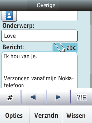Nokia Asha 300 - E-mail - e-mail versturen - Stap 11