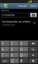 Samsung I8190 Galaxy S III Mini - Chamadas - Como bloquear chamadas de um número específico - Etapa 13