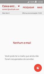 Samsung Galaxy J1 - Email - Como configurar seu celular para receber e enviar e-mails - Etapa 7