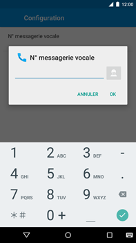 Motorola Nexus 6 - Messagerie vocale - Configuration manuelle - Étape 10