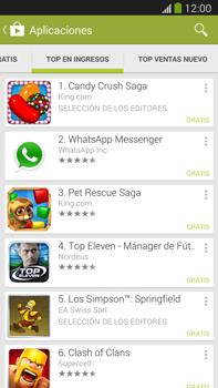 Samsung Galaxy Note 3 - Aplicaciones - Descargar aplicaciones - Paso 10
