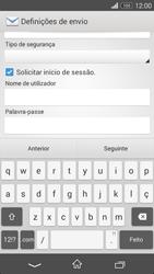 Sony Xperia M2 - Email - Configurar a conta de Email -  15