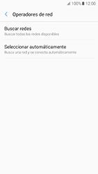 Samsung Galaxy A5 (2017) (A520) - Red - Seleccionar una red - Paso 7