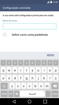 LG G4 - Email - Adicionar conta de email -  9