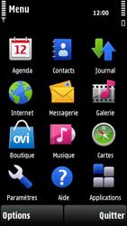 Nokia X6-00 - Messagerie vocale - configuration manuelle - Étape 4