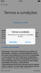 Apple iPhone iOS 9 - Primeiros passos - Como ativar seu aparelho - Etapa 24