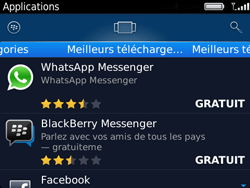 BlackBerry 9720 - Applications - Télécharger une application - Étape 14