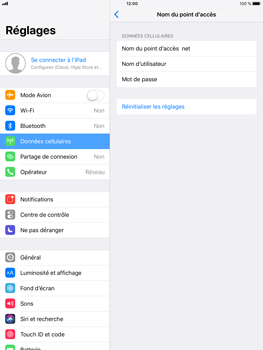 Apple iPad Air 2 - iOS 11 - Internet - Configuration manuelle - Étape 7