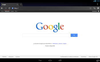 Acer Iconia Tab A3 - Internet - Navigation sur internet - Étape 6