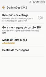 Samsung Galaxy Xcover 3 (G389) - SMS - Como configurar o centro de mensagens -  10