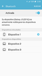 Samsung Galaxy J5 (2016) - Bluetooth - Conectar dispositivos a través de Bluetooth - Paso 8