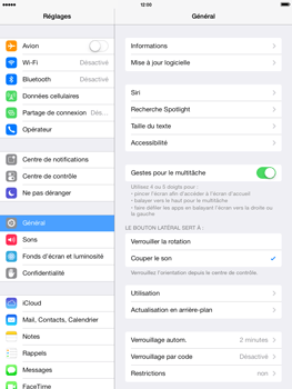 Apple iPad 4th generation iOS 7 - Internet - configuration manuelle - Étape 4