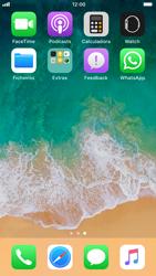 Apple iPhone 8 - Aplicações - Como configurar o WhatsApp -  4