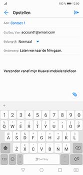 Huawei P20 Lite - E-mail - e-mail versturen - Stap 7
