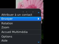 BlackBerry 9320 - Photos, vidéos, musique - Prendre une photo - Étape 12