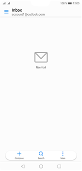 Huawei P20 Pro - E-mail - Manual configuration (outlook) - Step 10
