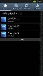 Samsung Galaxy Note 2 - Photos, vidéos, musique - Ecouter de la musique - Étape 4