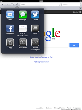 Apple iPad mini - Internet - Internet browsing - Step 5
