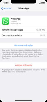 Apple iPhone X - Aplicações - Desinstalar/remover aplicação -  6