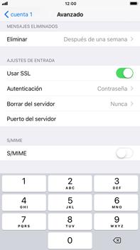 Apple iPhone 7 Plus iOS 11 - E-mail - Configurar correo electrónico - Paso 23