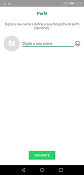 Huawei P20 - Aplicações - Como configurar o WhatsApp -  13