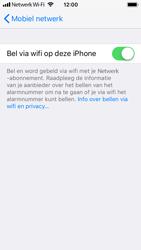 Apple iPhone SE - iOS 11 - Bellen - Bellen via wifi (VoWifi) - Stap 7