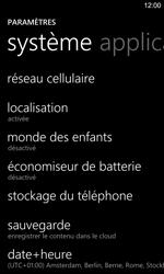 Nokia Lumia 925 - Internet - configuration manuelle - Étape 5