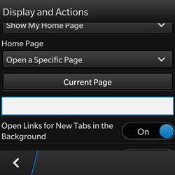 BlackBerry Q10 - Internet - Manual configuration - Step 19