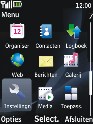 Nokia 2730 classic - Internet - handmatig instellen - Stap 3