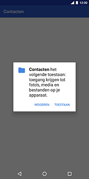Nokia 7 Plus - Contactgegevens overzetten - delen via Bluetooth - Stap 8