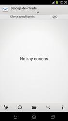 Sony Xperia Z1 - E-mail - Escribir y enviar un correo electrónico - Paso 4